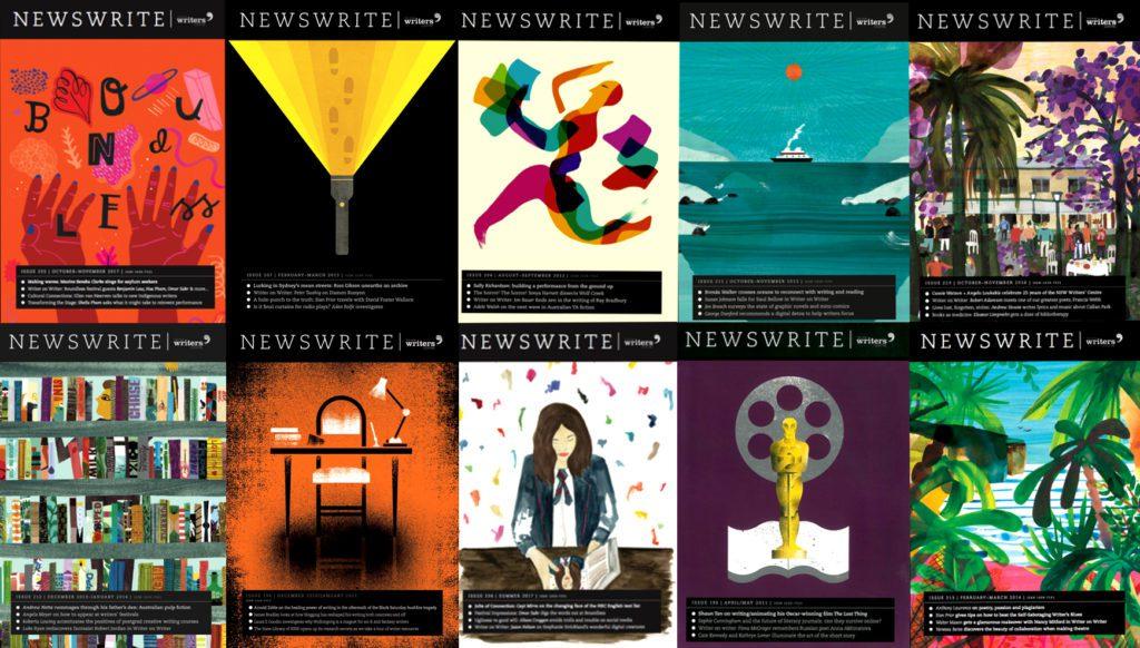 Newswrite Magazine, Writing NSW, edited by Kirsten Krauth